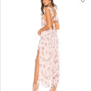 Love Shack Fancy Sally long Flowy dress